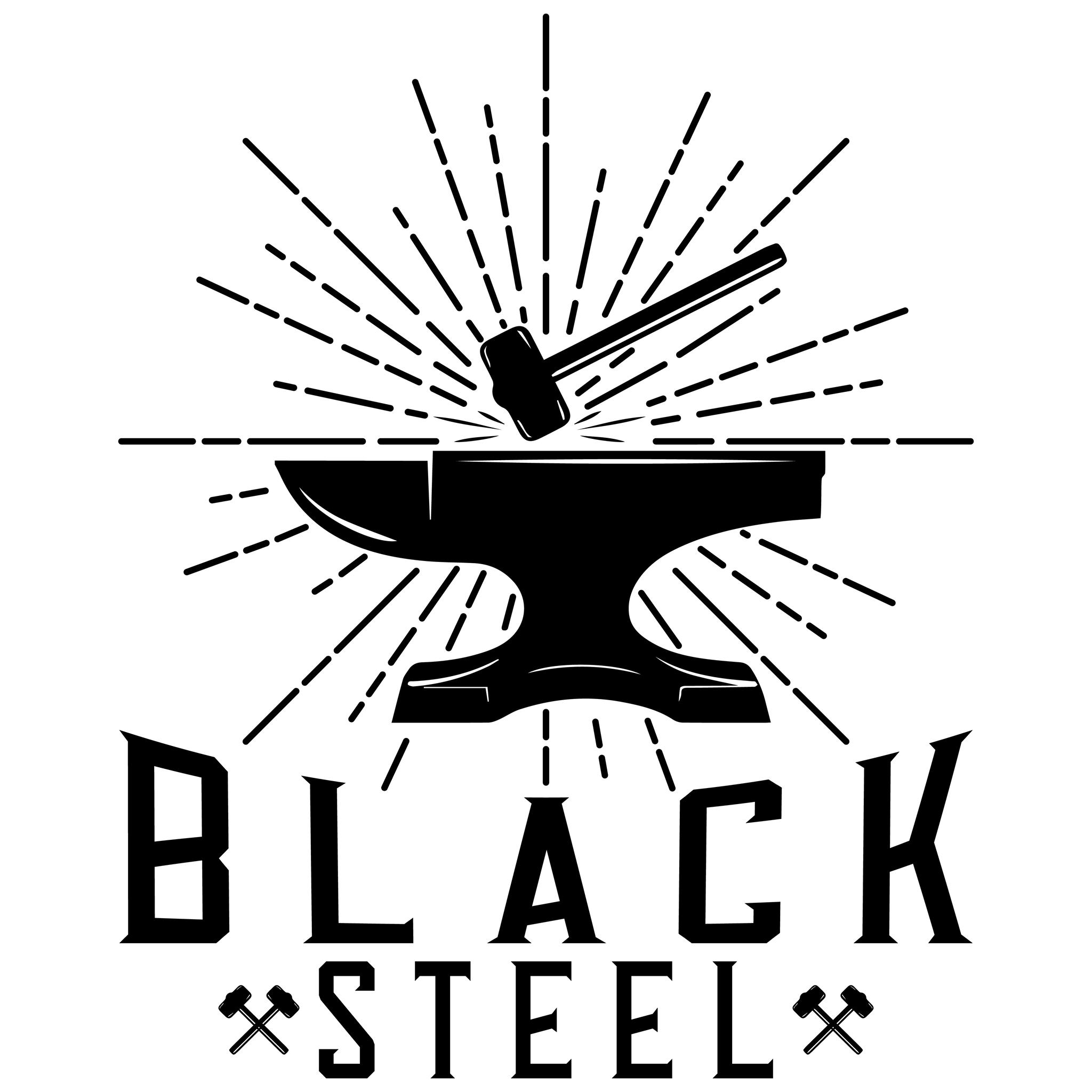 logo Black Steel