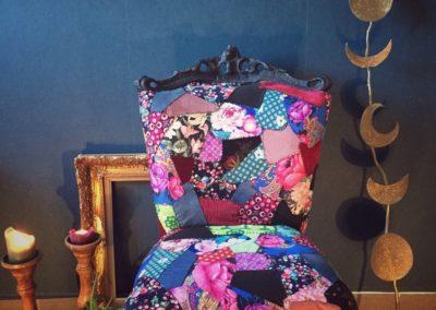 Les créations de Marianne de La Roulotte : fauteuil
