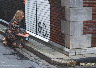 Gwenaëlle Doumont signe la fresque