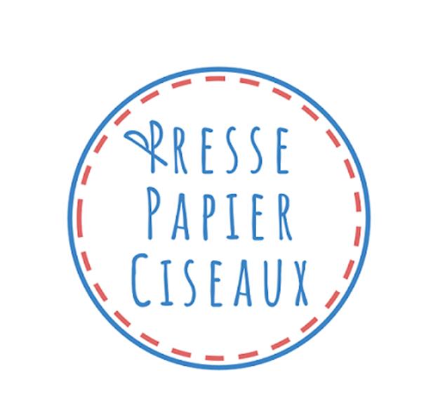 logo presse papier ciseaux