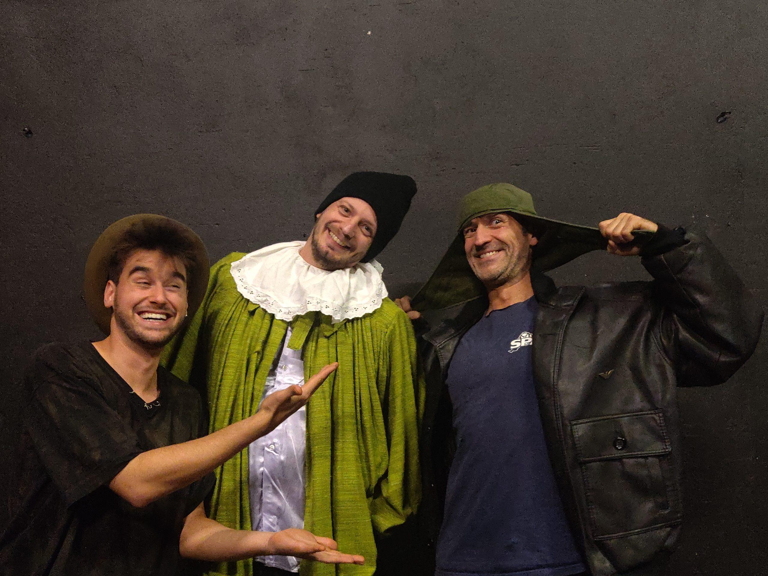 Matthieu, Martin et Rocco dez Improbables
