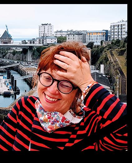 Muriel Charlot de Presse Papier CIseaux